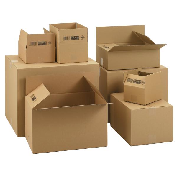 Faltkarton 427x304x150 mm - einwellige Kartons